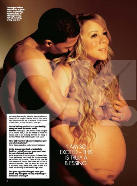 All mariah carey pregnant nude